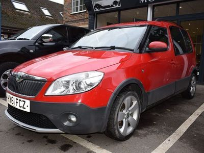 used Skoda Roomster Scout TSI 1.2 5dr