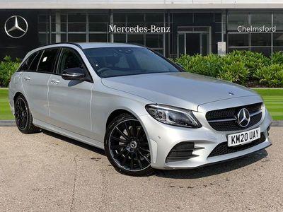 used Mercedes C200 C-ClassAMG Line Night Edition Premium 5dr 9G-Tronic