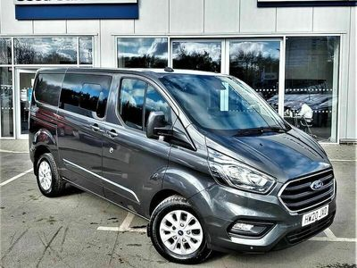 used Ford Custom Transit2.0 EcoBlue 130ps Low Roof D/Cab Limited Van Auto