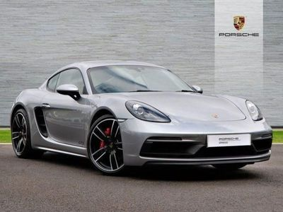 used Porsche Cayman 2.5 GTS 2dr PDK