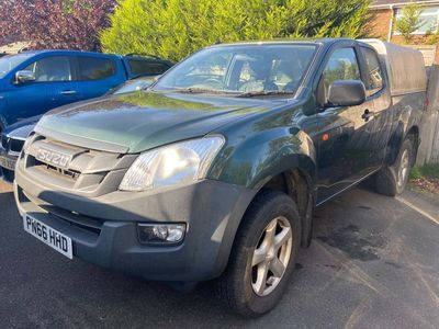 used Isuzu D-Max 2.5 TD Extended Cab Pickup 4x4 2dr