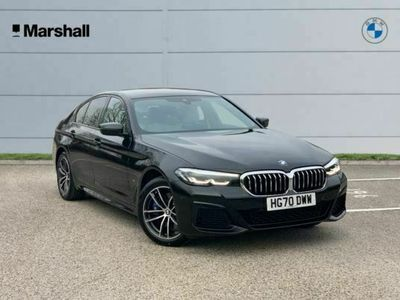 used BMW 530 5 Series e M Sport 4dr Auto Saloon 2021