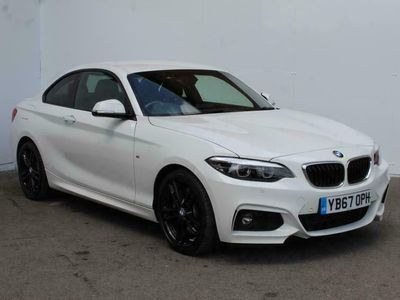 used BMW 220 2 Series d M Sport 2dr [Nav] Step Auto Coupe diesel coupe