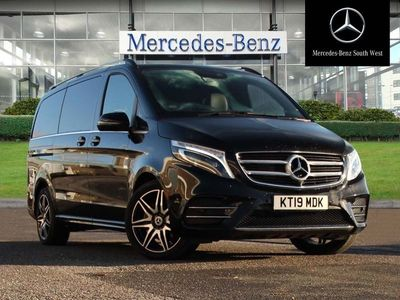 used Mercedes V220 V-Classd AMG Line 5dr Auto [Long]