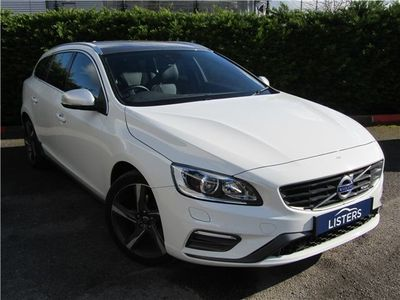 used Volvo V60 D4 [181] R Design Lux 5Dr Geartronic