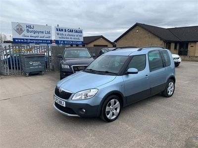 used Skoda Roomster 1.6 SCOUT TDI CR 5d 103 BHP