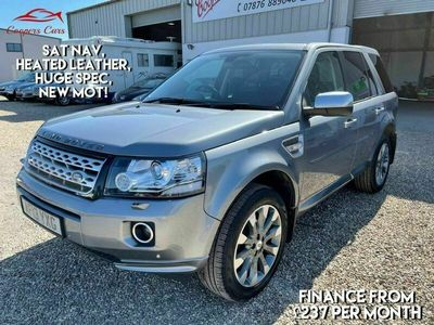 used Land Rover Freelander 2 2.2 SD4 HSE Luxury 4X4 5dr