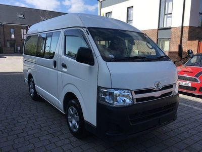 used Toyota HiAce Unlisted 20139 SEATER PETROL AUTO FRESH IMPORT FROM JAPAN V