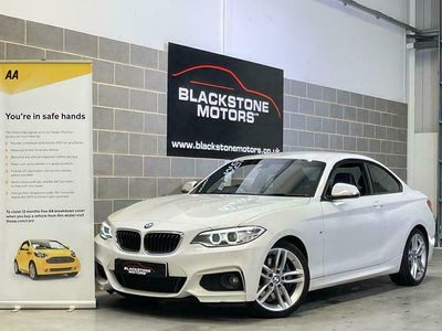used BMW 220 2 Series 2.0 d M Sport Auto (s/s) 2dr