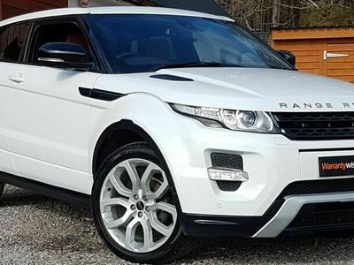 used Land Rover Range Rover evoque Coupe 2.2 SD4 Dynamic Coupe 3d