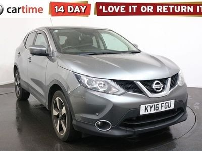 used Nissan Qashqai 1.5 DCI N-TEC 5d 108 BHP Service History Your dream car can become a reality with cartime's fantastic finance deals.