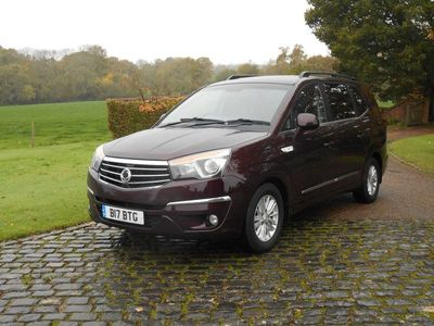 used Ssangyong Rodius DIESEL AUTOMATIC MPV 5 DOORS