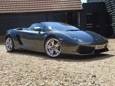 used Lamborghini Gallardo Coupe Spyder 2d E Gear