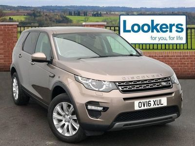 used Land Rover Discovery Sport 2016 Ribbleton 2.0 Td4 180 Se Tech 5Dr Auto