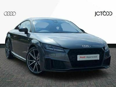used Audi TT 45 TFSI Black Edition 2dr coupe
