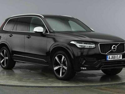 used Volvo XC90 II T5 AWD R-Design Automatic( Onyx Black, Smart Phone Integration)