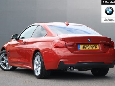 used BMW 430 4 Series d M Sport 2dr Auto [Professional Media] Coupe 2019