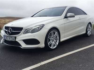 used Mercedes E220 E-CLASS 2.1AMG LINE EDITION 2d 174 BHP