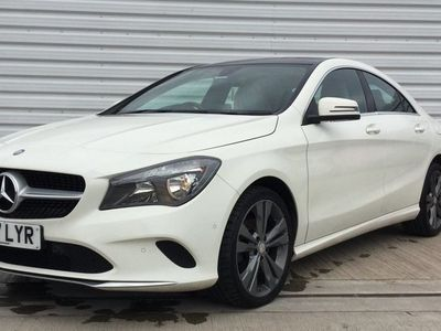 used Mercedes CLA220 CLA CLASS[177] Sport 4dr Tip Auto White Automatic Diesel