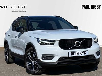 used Volvo XC40 T3 (161 BHP) R-Design Manual (Heated Front Seats, Heated Windscreen) 1.5 5dr