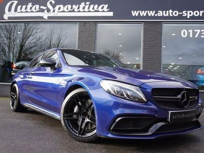 used Mercedes C63 AMG C CLASS 4.0V8 BiTurbo AMG (Premium) SpdS MCT (s/s) 2d