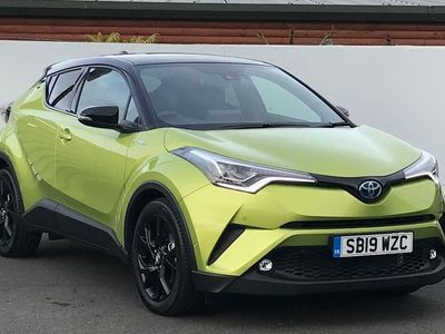 used Toyota C-HR 1.8 VVT-h Lime Edition CVT (s/s) 5dr