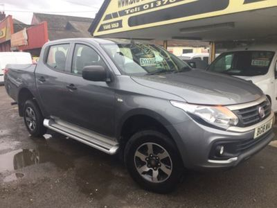 used Fiat Fullback SX DCB 2.4 TD 150 BHP,28000 MILES, 2018, not known, 28000 miles.