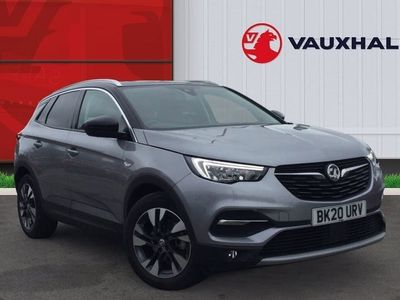 used Vauxhall Grandland X 1.2 Turbo SRi Nav SUV 5dr Petrol Manual (s/s) (130 Ps)