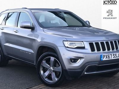 used Jeep Grand Cherokee 2017 Bradford V6 CRD LIMITED PLUS