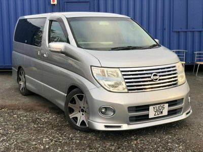 used Nissan Elgrand Highway STAR Auto 2.5 V6 Leather 8 Seats 5dr