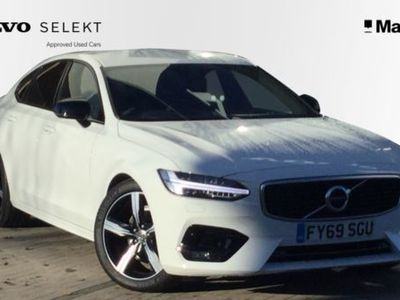 used Volvo S90 2.0 T4 R DESIGN Plus 4dr Geartronic Saloon 2019