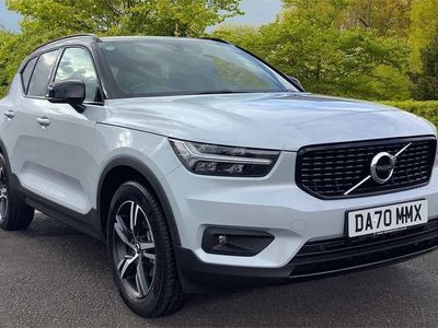 used Volvo XC40 D3 FWD R-Design (Leather/Nubuck Upholstery, Black Roof)