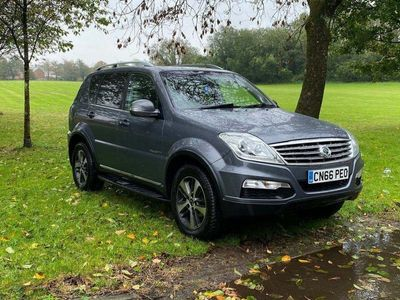 used Ssangyong Rexton 2.2 TD ELX T-Tronic 4x4 5dr