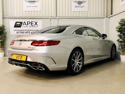used Mercedes S63 AMG S-Class AMGCoupe 2d Auto