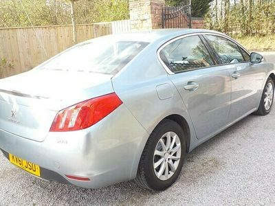 used Peugeot 508 2.0 HDi 163 SR 4dr IDEAL SPACIOUS FAMILY CAR, 70+MPG, £125 ANNUAL TAX