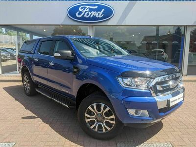 used Ford Ranger 2.2 TDCi Limited 1 Double Cab Pickup Auto 4WD 4dr