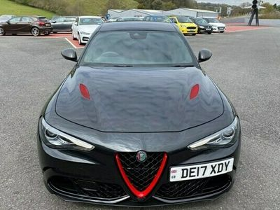 used Alfa Romeo Giulia Saloon Quadrifoglio 2.9 V6 Bi-Turbo 510hp auto 4d