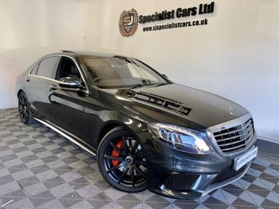 used Mercedes S63 AMG S CLASS 5.5AMG L EXECUTIVE 4DR AUTOMATIC