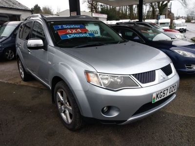 used Mitsubishi Outlander 2.0 DI-D Warrior 5dr 7 Seater