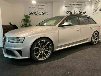 used Audi RS4 4.2 TFSI Avant S Tronic quattro 5dr PRISMA SILVER,CRYSTAL EFFECT