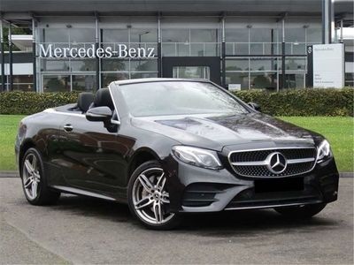 used Mercedes E50 AMG E Class4Matic AMG Line Premium Plus 2dr 9G-Tronic cabriolet