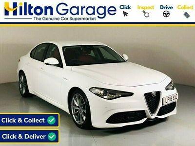 used Alfa Romeo Giulia Saloon 2.0 TB VELOCE 4d AUTO 277 BHP 2018