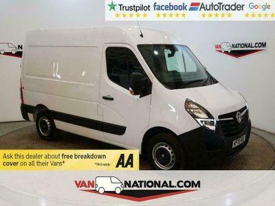 used Vauxhall Movano 2.3 L1 H2 F2800 135 BHP TURBO D