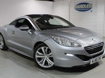 used Peugeot RCZ 2.0 HDi GT 2dr 19ALLOYS, FULL LEATHER, A/C