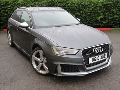 used Audi RS3 RS3 RS 3 2.5 TFSIQuattro 5dr S Tronic (Nav) Hatchback 2016