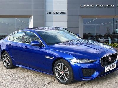 used Jaguar XE 2.0d R-Dynamic SE 4dr Auto AWD
