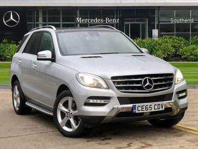 used Mercedes ML350 M-ClassCDi BlueTEC SE Executive 5dr Auto [Premium]