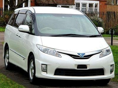 used Toyota Estima Hybrid E-Four X 7 Seats 7 Speed Auto 2.4 5dr