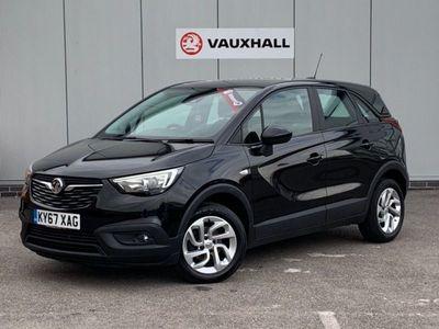 used Vauxhall Crossland X 1.6 SE ECOTEC S/S 5 door hatchback diesel hatchback