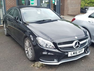 used Mercedes CLS350 CLSAMG Line 4dr 9G-Tronic